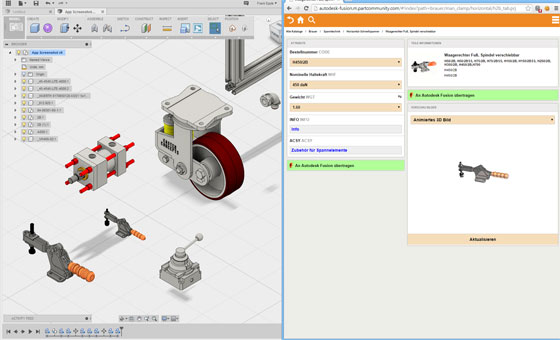 parts4cad is the newest application for product manufacturers to browse numerous 3d cad models