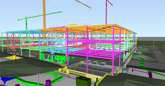 BIM and Cloud technology become the part and parcel of 3D model based design.