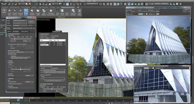 An exclusive online course on 3ds Max 2018