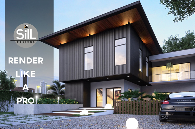 How to perform exterior rendering with 3ds Max and Vray