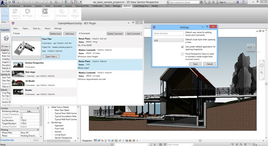 BCF Plugin 2 for Autodesk Revit