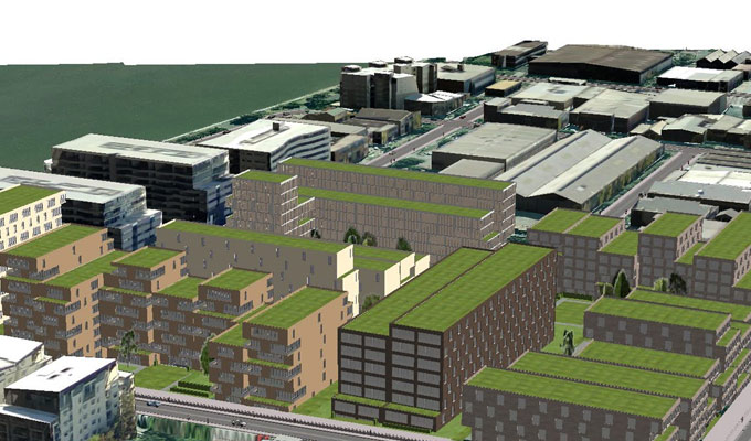 BIM Market – New example of Visual Interactive Modeling and Simulation for Construction Projects