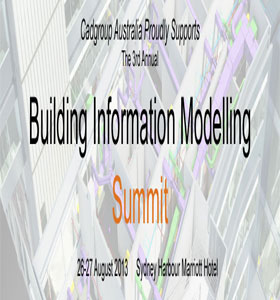 Cadgroup and Autodesk at the 3rd Annual BIM Summit in Sydney