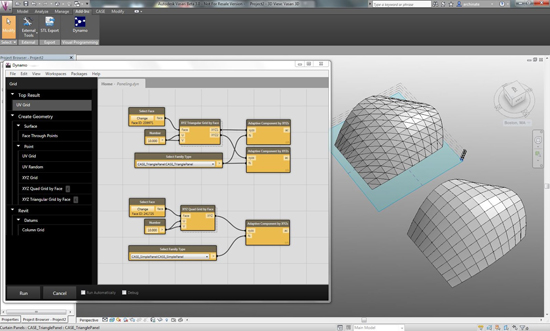 Convert Rhino files into Dynamo Design Script and Revit Models with Rhynamo