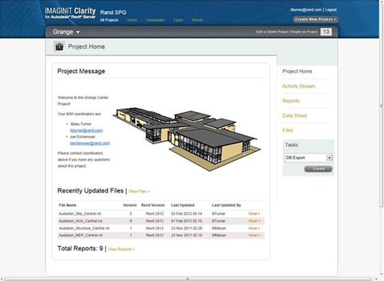 IMAGINiT Technologies introduced IMAGINiT Clarity for Revit 2019