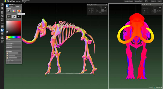 Smithsonian x3D Explorer, a new interactive educational tool from Autodesk