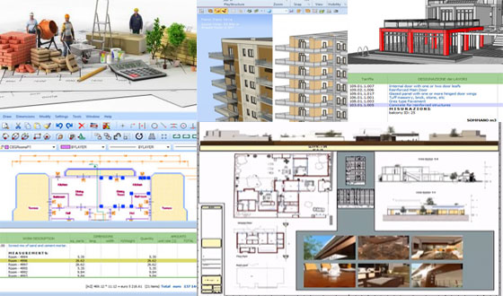 Huge list of BIM based quantity take off and estimating software from ACCA