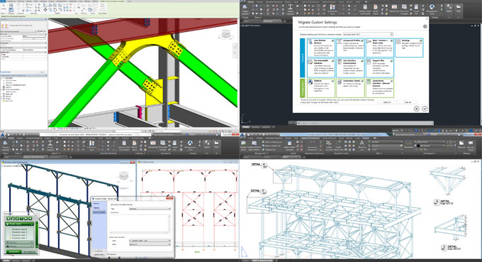 Autodesk is going to introduce a new series of products like Advance Steel 2018 & Steel Connections for Revit 2018