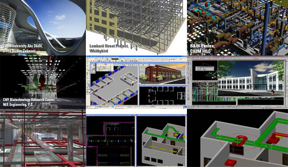 AECOsim is an exclusive BIM package to create any building design in realtime