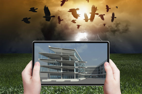 construction & design of a building is greatly streamlined with Augmented Reality Technology