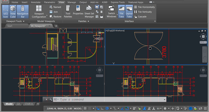 Demo of an online course on AutoCAD 2018