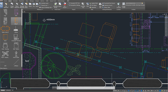 AutoCAD 2019 has specialized notes