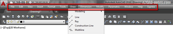 Some common step to learn AutoCAD commands