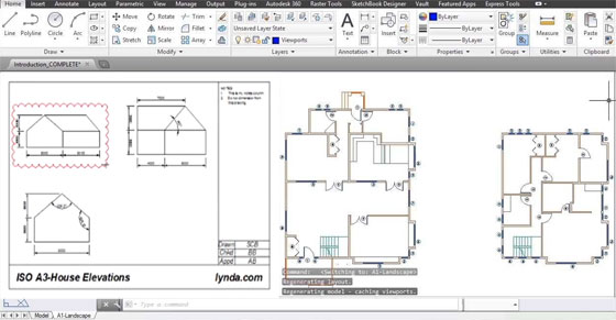 An exclusive online AutoCAD course by conducted by Shaun Bryant
