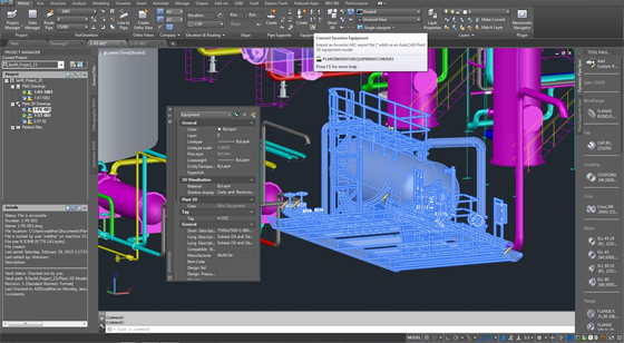 AutoCAD Plant 3D 2017 Object Enablers