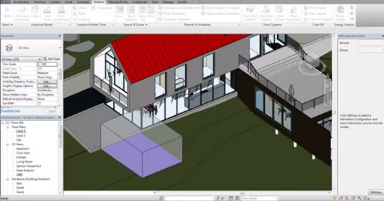Live video streaming of Revit 2016 and its new features