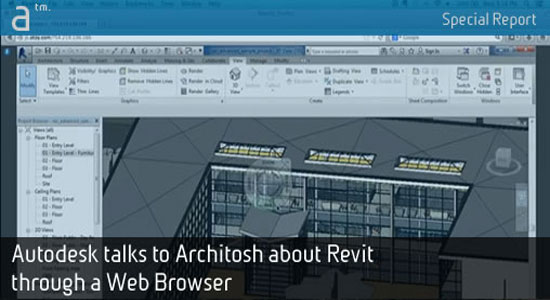 Autodesk has made a discussion with Architosh regarding the launching of its Revit