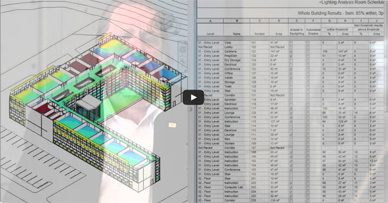 Automated LEED Daylighting for Revit users