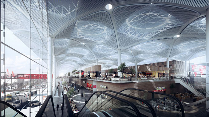 How BIM was implemented on the Istanbul Grand Airpor Project