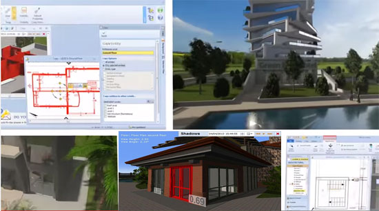 Edificius is a useful BIM application for complete building modeling