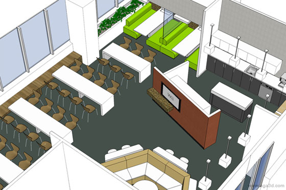 BIM can greatly impact the interior designing process