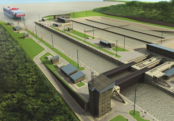 How BIM was utilized in the Panama Canal development project