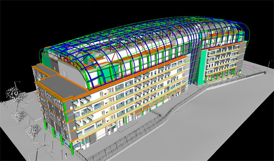 A competition to establish BIM solution for Autodesk
