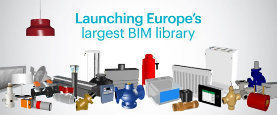 Access over 1+ million MEP products for Building Information Modeling