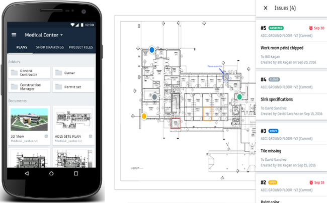 Autodesk Expands BIM 360 Docs to Android Devices