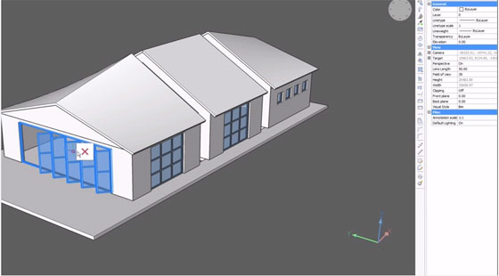 How to model a house with BricsCAD BIM