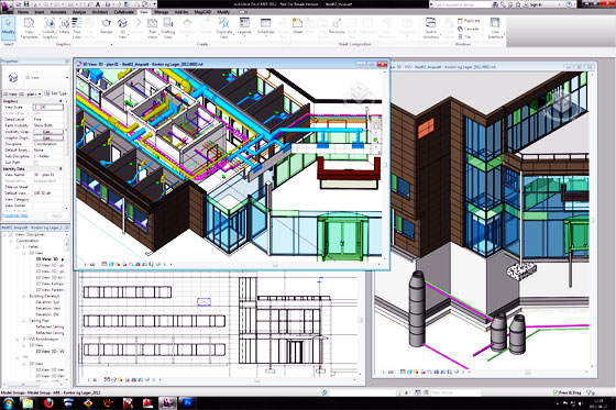 Brief demo of Revit Mep 2016 Electrical