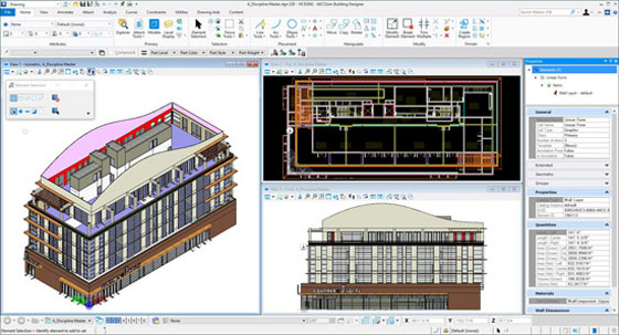 Review of AECOsim Building Designer CONNECT Edition