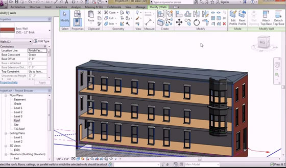 Designing and Documenting a Building in Revit
