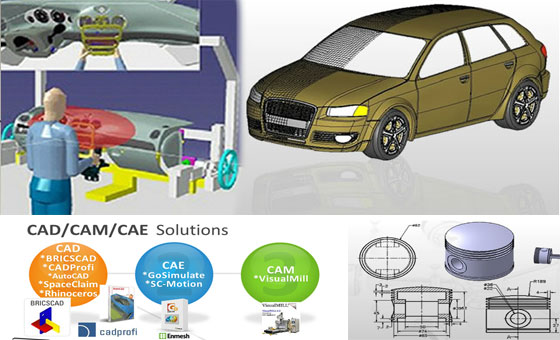 Online Design Training is organizing the online training sessions in the field of CAD, CAM, CAE