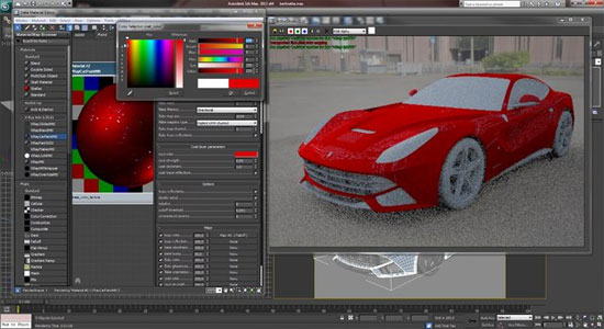 Car Render Tutorial with 3Ds Max and Vray