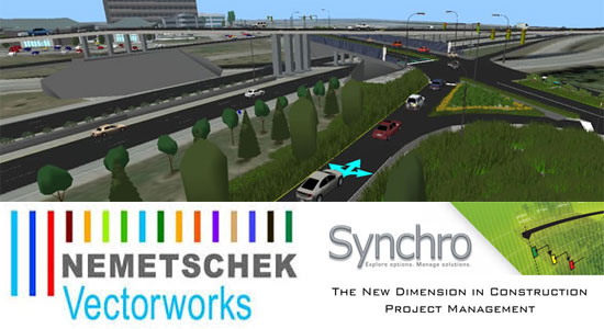 Nemetschek Vectorworks, Inc. and Synchro Software have teamed up to offer superior collaboration & interoperability solution