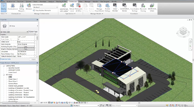 How to upload the Revit models to collaboration for Revit