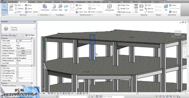 Brief overview of connections in Revit 2017
