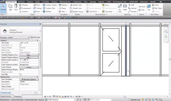Revit Curtainwall Doors