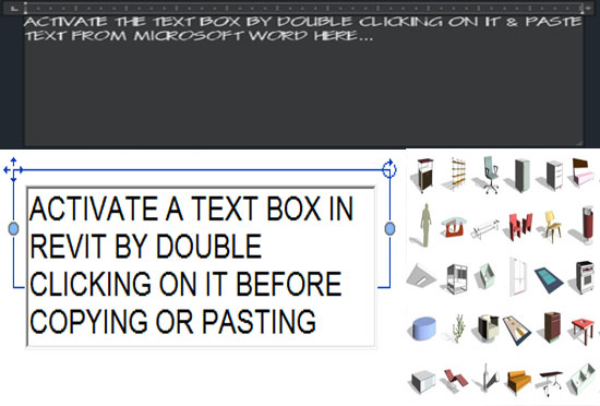 Some useful tricks to cut/copy & paste text from word to AutoCad and Revit
