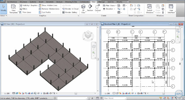 How to Draw Structural Slab in Autodesk Revit 2017