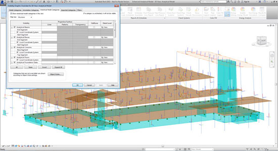 Enhanced Analytical Model with Revit 2015
