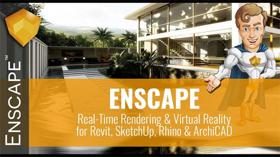 Enscape – The powerful 3D real-time rendering software