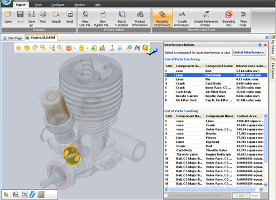 CCE, the reliable solution provider in various engineering software, just launched EnSuite software that can be applied to view and convert 3D CAD data.