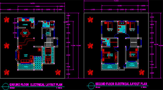 Some useful AutoCAD tips to generate a simple floor plan