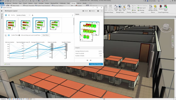 Generative Design Features in Revit 2021