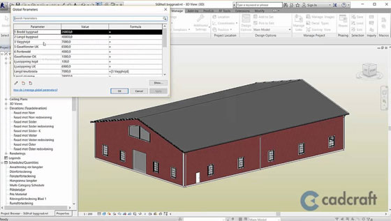 Global Parameters in Revit 2016 - R2