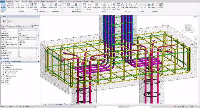 Graphical Rebar Constraints in 3D Views – An excising feature in Revit 2018