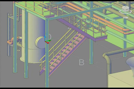 Grating with AutoCAD Plant 3D