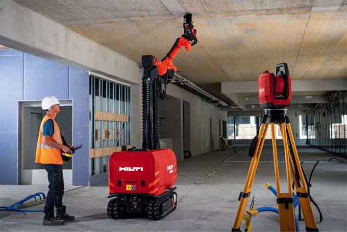 JAIBOT ? drilling robot invented by HILTI